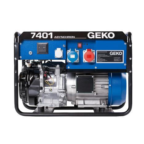 GEKO 7401 ED-AA/HEBA Stromerzeuger - Elektrostart - Honda Motor Leistung 3~ 6580 VA/ 1~ 5500 VA IP54 - Tankinhalt 20L