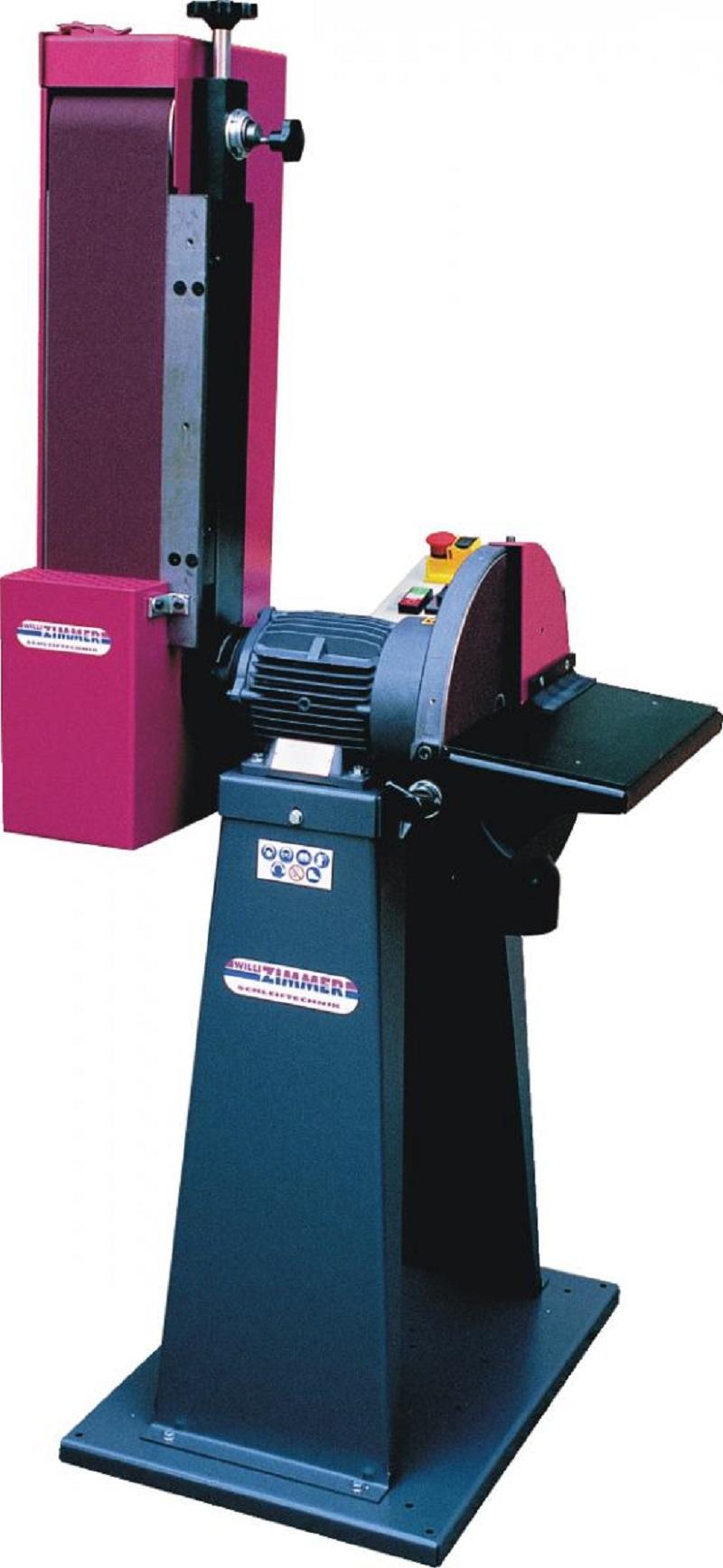 ZIMMER Rasant 343/2 inkl. Maschinensockel Horizontal- und Vertikalbandschleifmaschine