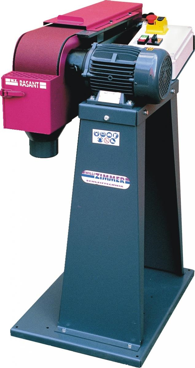 ZIMMER Rasant 310/2 inkl. Maschinensockel Schwenkbare Bandschleifmaschine