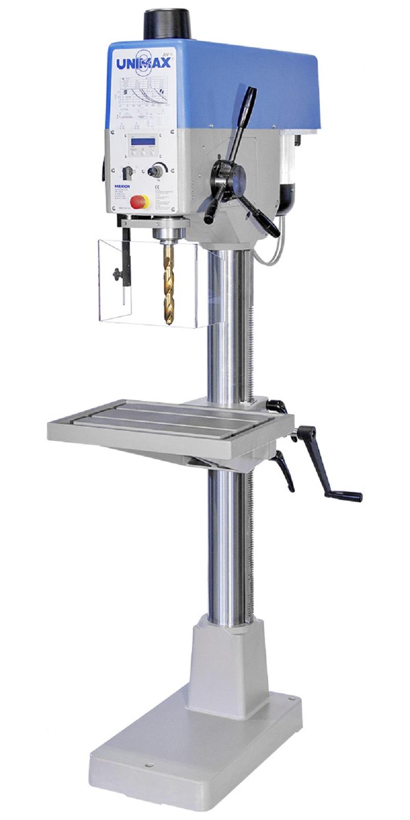 MAXION  Säulenbohrmaschine UNIMAX 3 AV  mit automatischem Vorschub