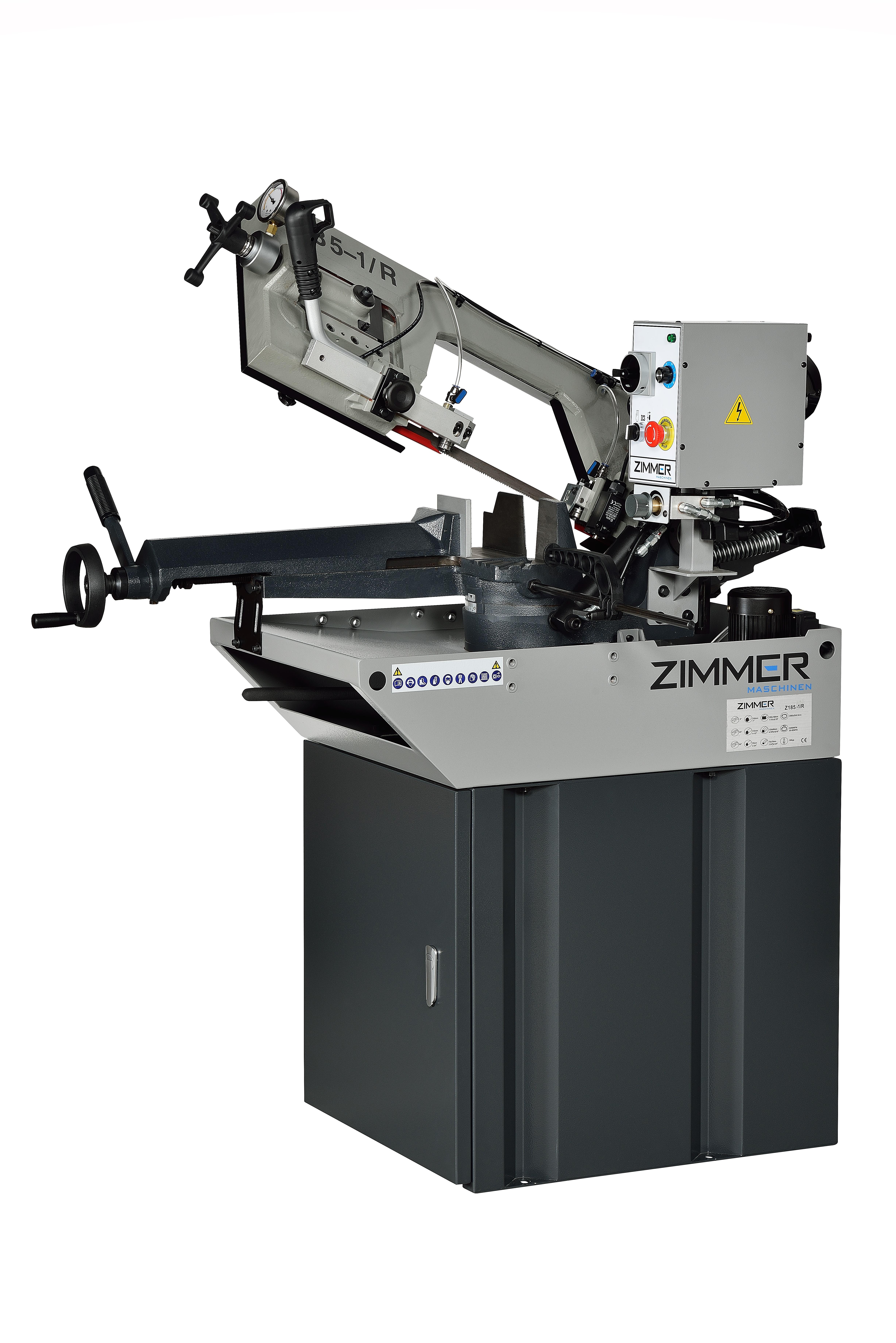 Stationäre Metallbandsäge ZIMMER Z185-1/R
