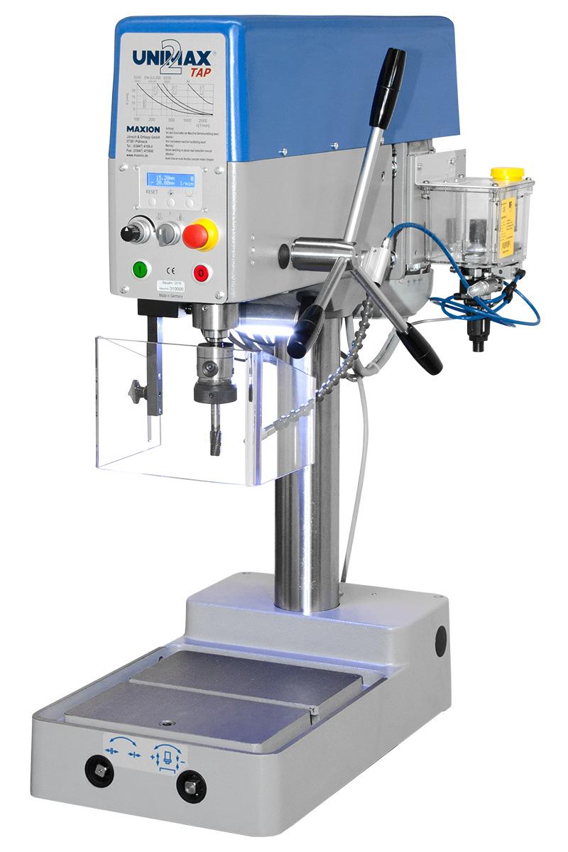MAXION Tischbohrmaschine UNIMAX 2 T TAP  mit Gewindeschneidfunktion