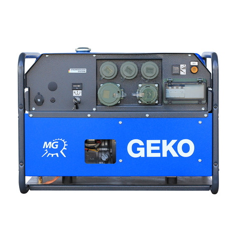 GEKO 7401 ED-AA/HEBA PS Stromerzeuger - E-start - Honda Motor Leistung 3~ 6500 VA/ 1~ 3600 VA IP54 - Tankinhalt 19L - STAGE V