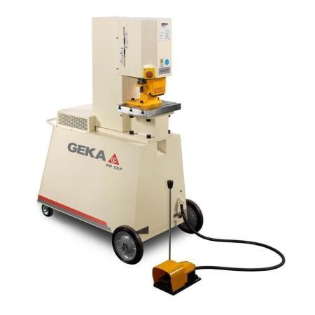 Geka PP50 fahrbare Stanze Modell G Vorführmaschine