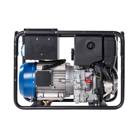 GEKO 7801 ED-AA/ZEDA Stromerzeuger - Elektrostart - HATZ Diesel - Leistung 3~ 6400 VA / 1~ 4500 VA IP54 - Tankinhalt 5L - Stage V