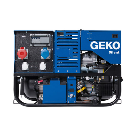 GEKO 12000 ED-S/SEBA S Stromerzeuger - Elektrostart - Briggs & Straton Leistung 3~ 12000VA/1~6000VA IP54 - Tankinhalt 16,5L