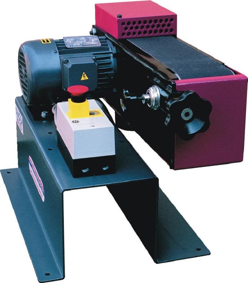 ZIMMER Wichtel 100/1  380Volt Horizontal- und Vertikalbandschleifmaschine
