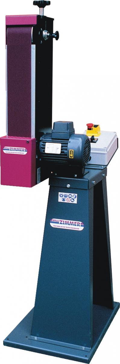 ZIMMER Wichtel 101/1 inkl. Maschinensockel Horizontal- und Vertikalbandschleifmaschine
