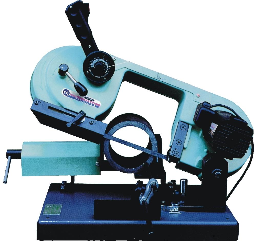 ZIMMER Z150/RLV Kleine Bandsägemaschine mit Gehrungsschnitte Rechts, Links, Vertikal