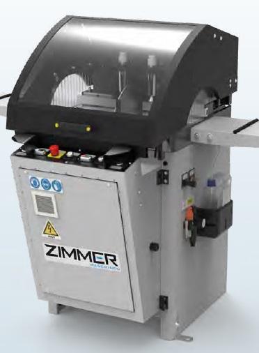 ZIMMER CUT 402-1 SX Unterflursägemaschine - Halbautomatisch Blattdurchmesser 400 mm - RAL 7035 Lichtgrau