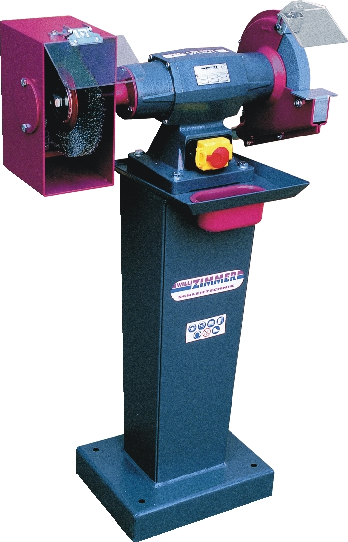ZIMMER SPEEDY 134 kombiniert als Polier- und Entgratmaschine